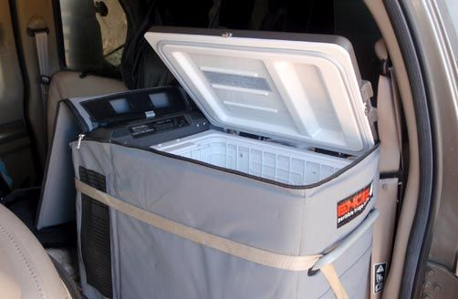 how to set up temperature kool-it fridge