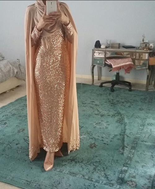 bea15394245a Mode Arabe, Hijab Soirée, Robe Soirée Hijab, Tenue Hidjab, Vetement Femme  Musulmane