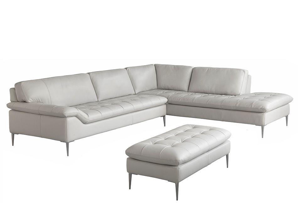 C211 Italian Leather Sectional Sofa By Chateau D Ax Italian