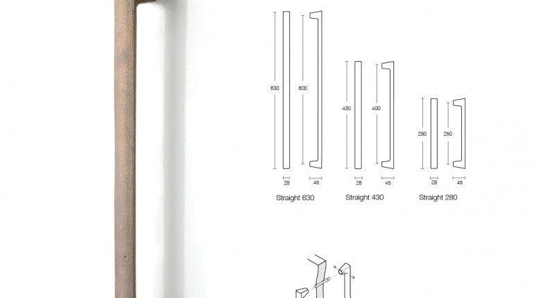 Luxurious Push Pull Door Handle Height and door pull handles ...