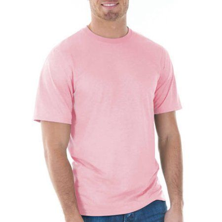 Gildan Big Mens Classic Short Sleeve T-Shirt, Men's, Size: 2XL, Pink