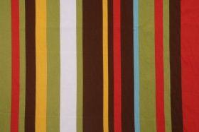 6 Yards Robert Allen Kukula Printed Cotton Drapery Fabric in Pinata