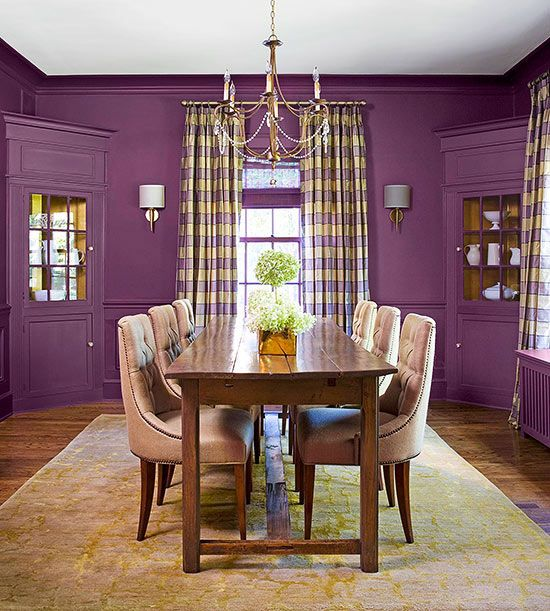 A Festive Spirit Reigns In This Stylish And Fun Dining Room Celebration Colors Ensure The