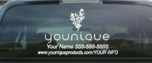 Window VINYL Decal Younique Gadgets Gadget Accessories - Custom vinyl car decals canada