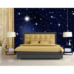 Glasvlies behang sterren