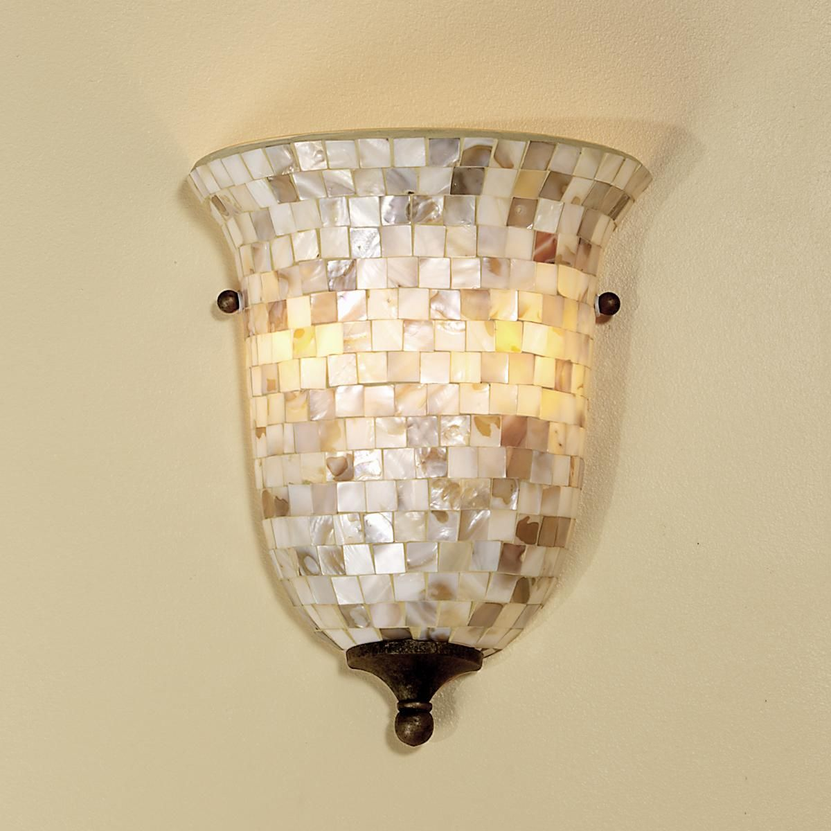 Mother of Pearl Pocket Sconce | Wall colors, Bedrooms and Lights