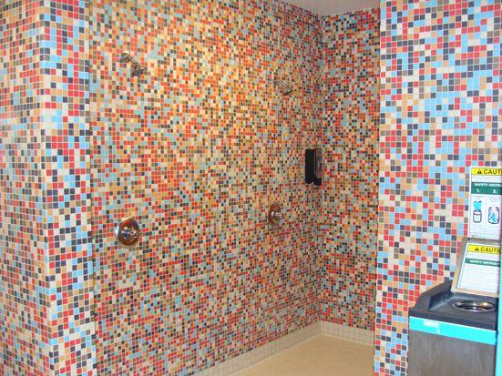 Multi Colored Mosaic Tile Eye Popping