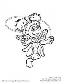 Abby Cadabby Coloring Pages Free