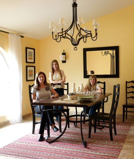 6 Amazing Room Makeovers | Buttercup, Spanish and Chandeliers