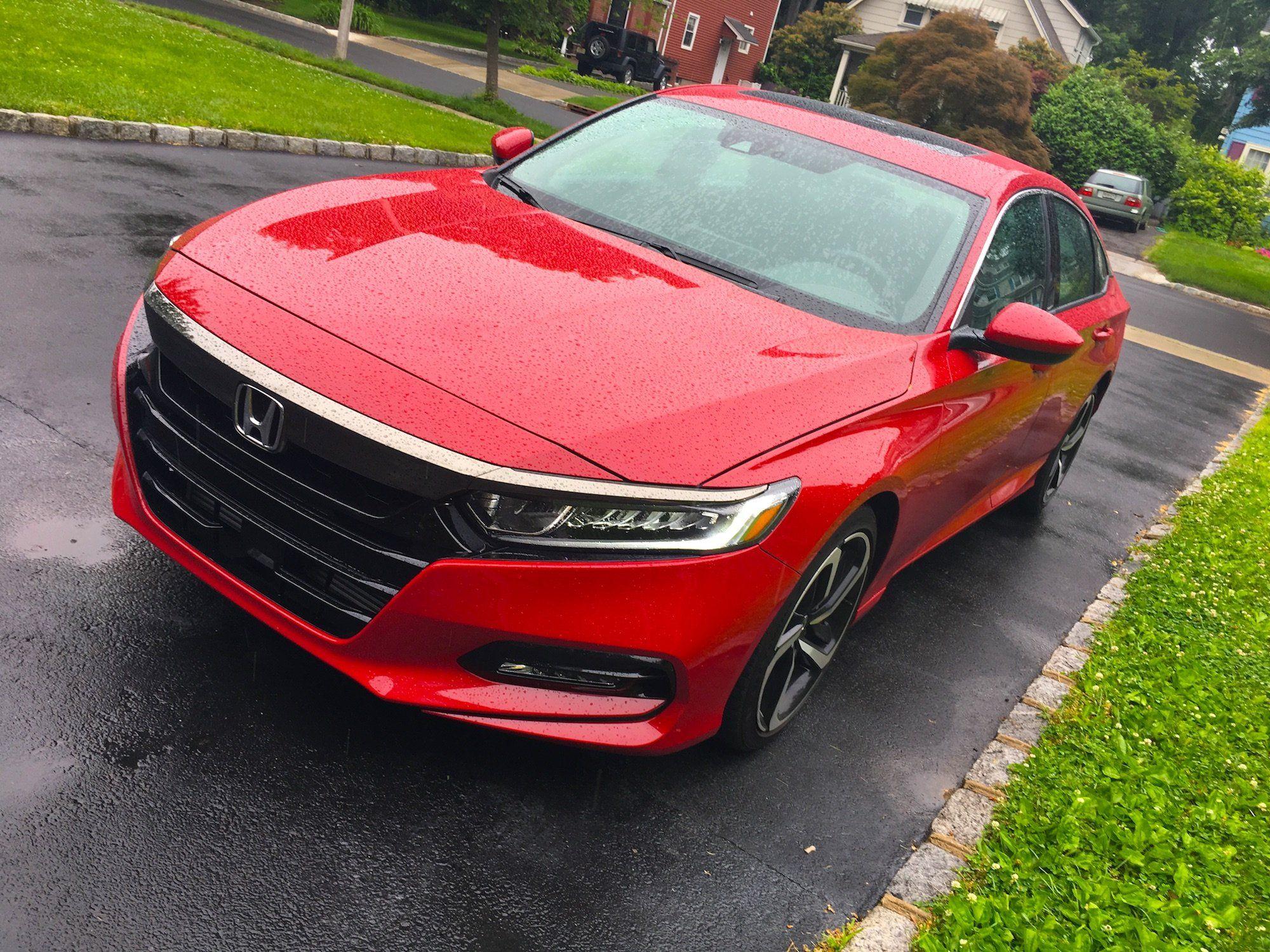 Honda Accord 2018 review, pictures Honda accord sport