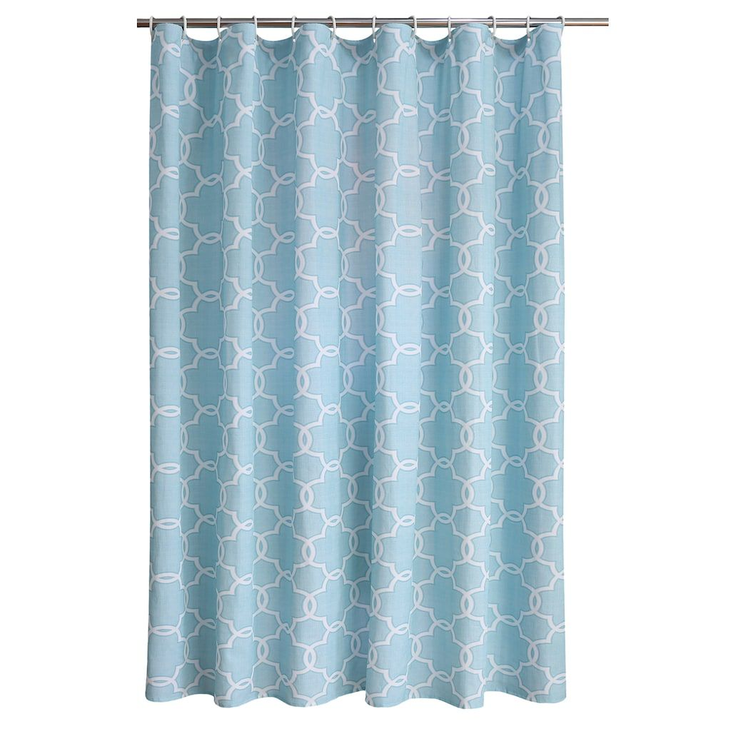 The Big One Trellis Shower Curtain In 2020 Stylish Shower