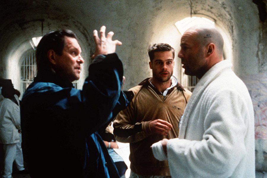 Terry Gilliam con Bruce Willis + Brad Pitt - L'esercito delle 12 scimmie