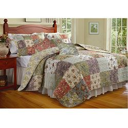 Blooming Prairie 5-piece King-size Cotton Quilt Set | Overstock ... : overstock quilts king - Adamdwight.com
