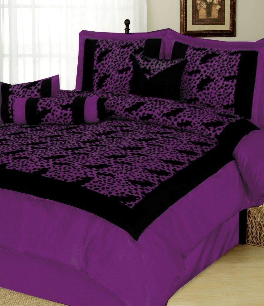 comforter down purple yellow and bedding