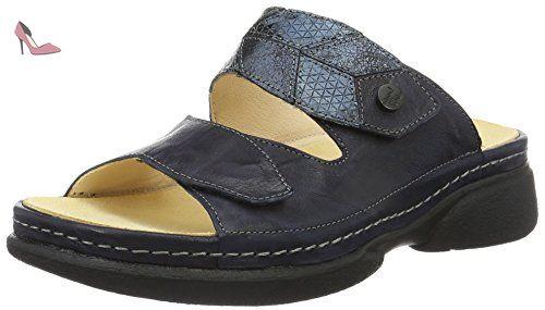 Think Cambio, Mules Femme, Bleu - 80403, 42 EU - Chaussures think (*Partner-Link)
