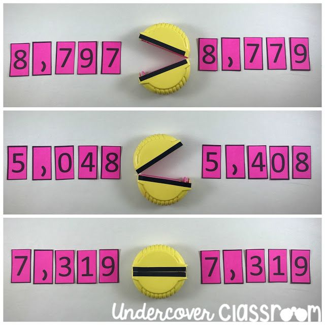 Greater Than Less Than Chompers Pinterest Comparing Numbers