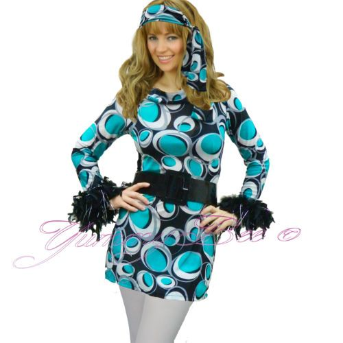 Plus size 60s fancy dress costumes