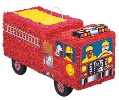 Firefighters bus Pinata - Trouva