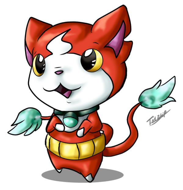 Yokai Watch Jibanyan Art Youkai Watch Deviantart