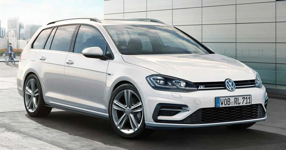 Vw R Line Packages Give New Golf The Sizzle Without The Steak Carscoops Volkswagen Vw Wagon Vw Golf Variant