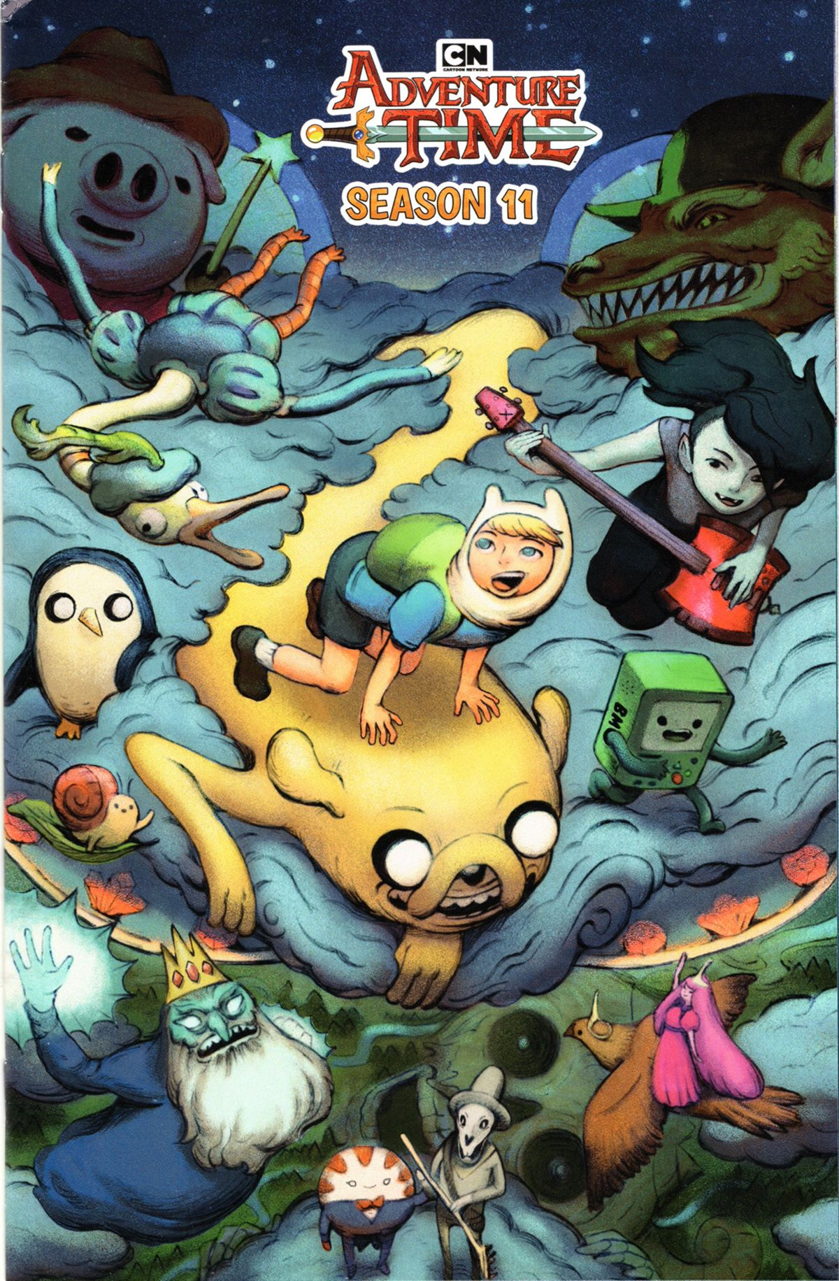 Adventure time variant covers boom cartoon network on