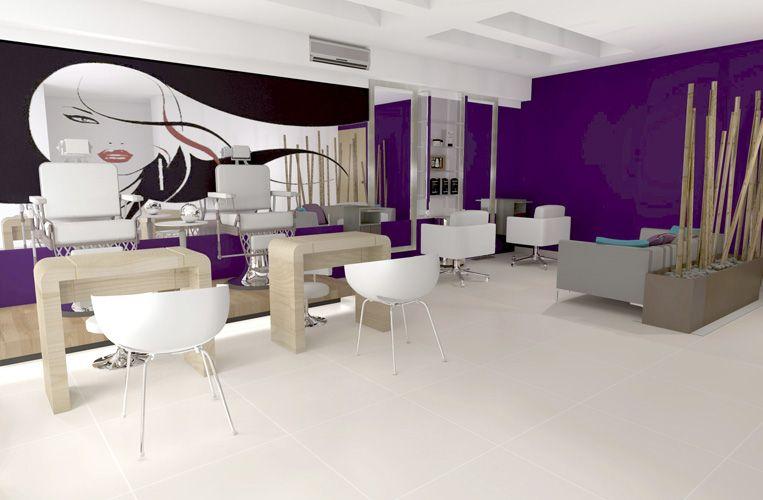 Peluquer as color nos gusta pinterest color sal n y - Salones de peluqueria decoracion fotos ...