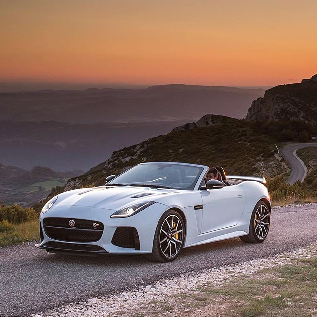 Indulgence On Every Level Jaguar Ftype Svr Convertible Carsofinstagram Jaguar Car Jaguar F Type Jaguar