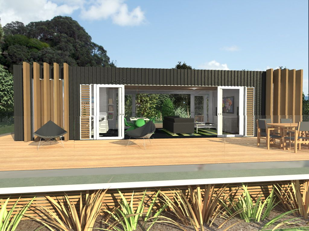 Cubular home house shipping for Coastal home designs nz