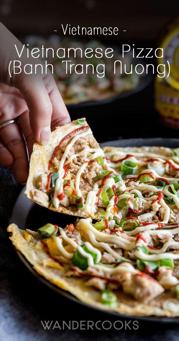 Vietnamese Pizza (Bánh Tráng Nướng) Recipe