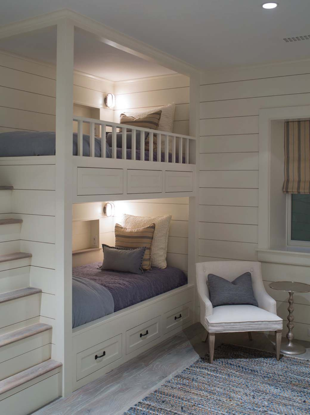 Kids loft bedroom ideas  contemporarycottagedesignjonathanraithkindesign  Attic