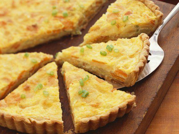 Pastinaken-Karotten-Kuchen Rezept Karotten kuchen, Pastinaken - leichte k che einfache rezepte