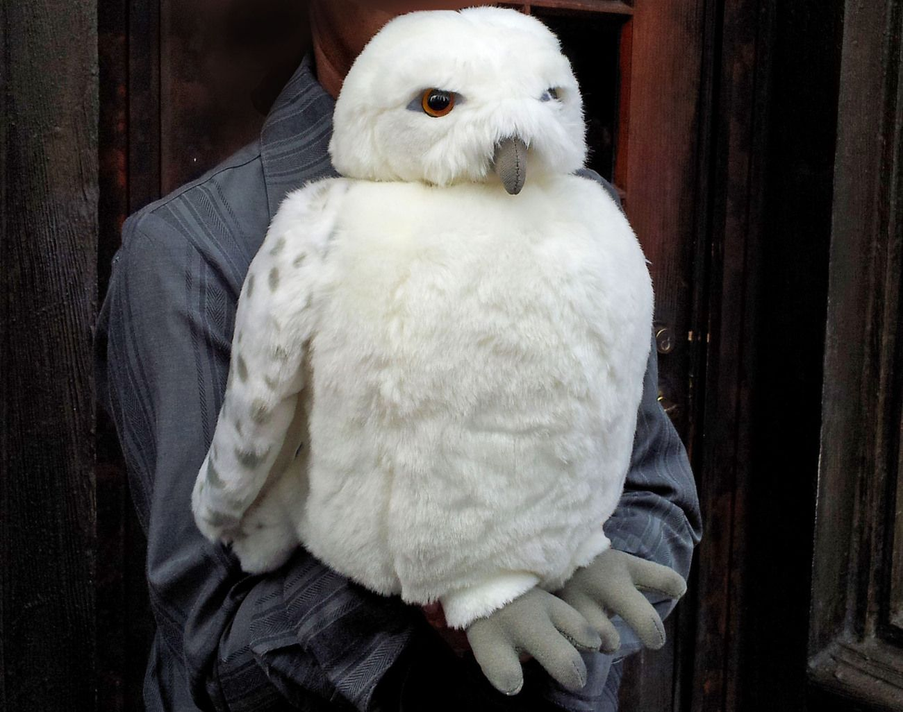 Hedwig Plush Owl Puppet from Wizarding World of Harry ...