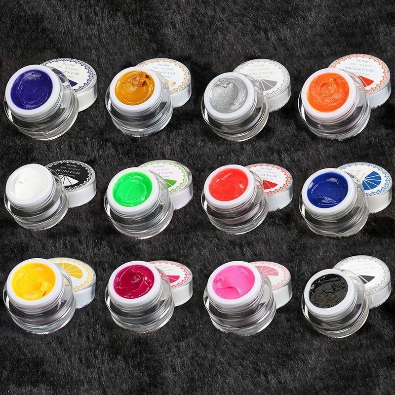 Frenshion 3d Paint Draw Nail Art Painting Acrylic Color Uv Led Gel