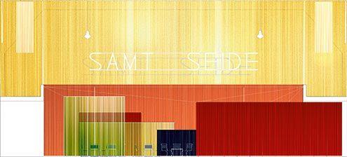 Samt Und Seide estudio interpretativo de color café samt seide de mies