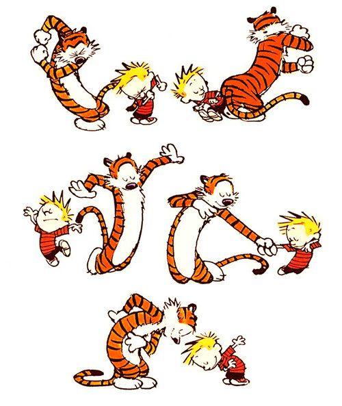 Waxandmilk Calvin And Hobbes Calvin And Hobbes Comics Fun Comics