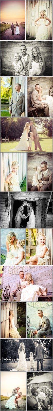 Summer Country/Barn Wedding - No Bridal Party - Small Family Wedding ...