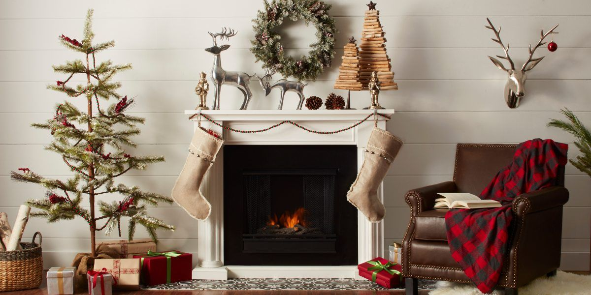 how to decorate a christmas mantel - Country Christmas Mantel Decorating Ideas