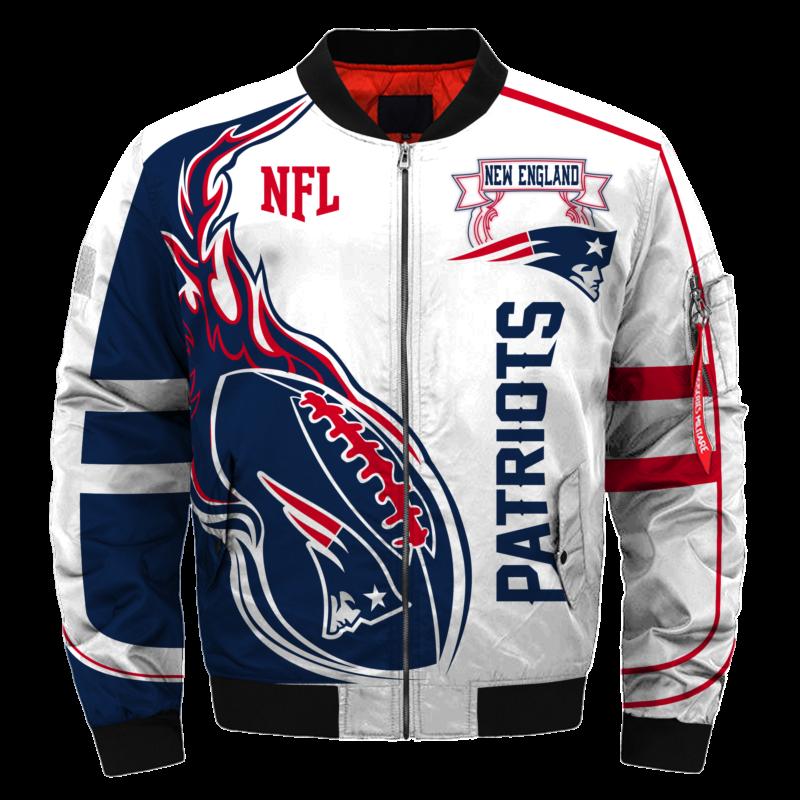 2019 Bomber Jacket Custom New England Patriots Jacket Bomber Jacket Custom New England Patriots Nfl New England Patriots