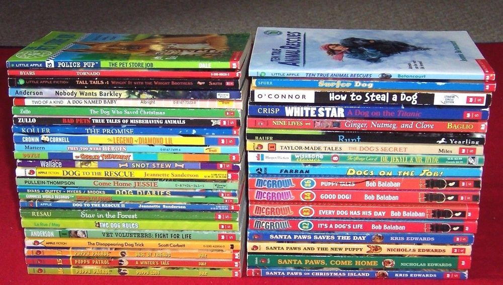 40 dogs kids chapter bookssummer readers 3rd 4th 5th