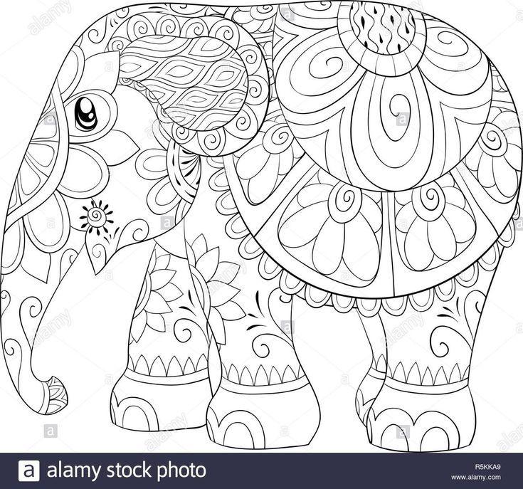 elefant malvorlagen erwachsene malvorlagen elefant