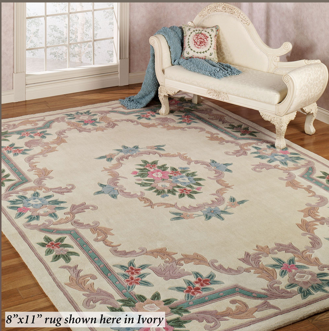 Serena Aubusson Rug Ivory Touch Of Class Catalog 7 3 X 9 3 Is The