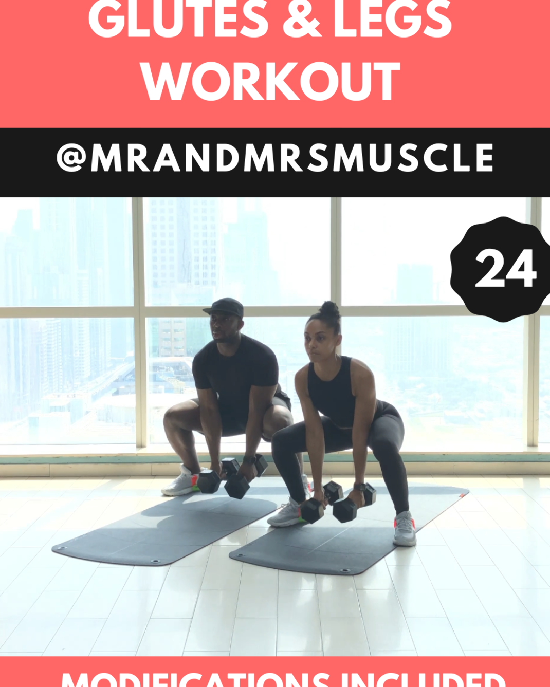 Burn Fat and Sweat Buckets with this intense Legs and Glutes HIIT Session!! Hundreds more workout available on our channels. --- #gluteworkout #gluteworkoutwomen #glutesworkout #gluteactivationexercises #gluteexercises #gluteexercisesforwomen #gluteworkoutathome #glutesworkoutathome #glutesworkoutmen #glutesandhamstringsworkout #glutesexercises #legworkout #legsworkout #legsandglutesworkout #legworkoutathome #mrandmrsmuscle #fitness #hiit #pintowin2019