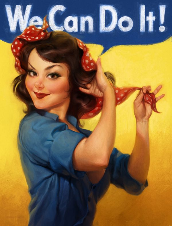 pin up you can do it