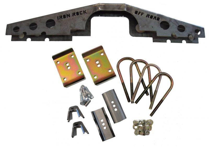 Xj Ford 8 8 Axle Swap Kit W Truss Iron Rock Off Road Axle