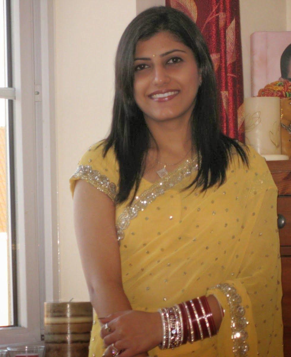 beautiful girl in naked sari