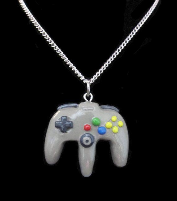 Create your own nintendo 64 controller necklace diy accessories create your own nintendo 64 controller necklace aloadofball Choice Image