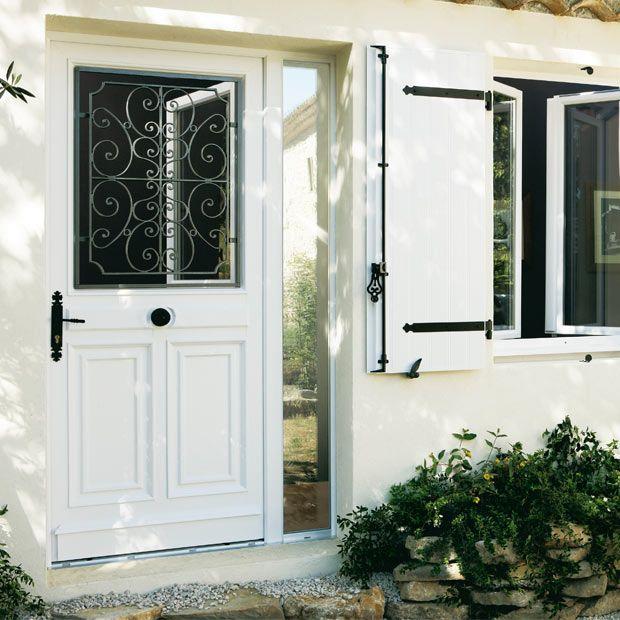 Porte d 39 entr e mansart pvc porte entree vitree isolation porte d entr e et porte entree bois - Porte d entree bois lapeyre ...