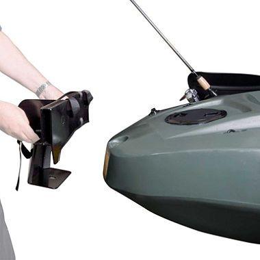 Lifetime Kayak Motor Mount With Battery Case