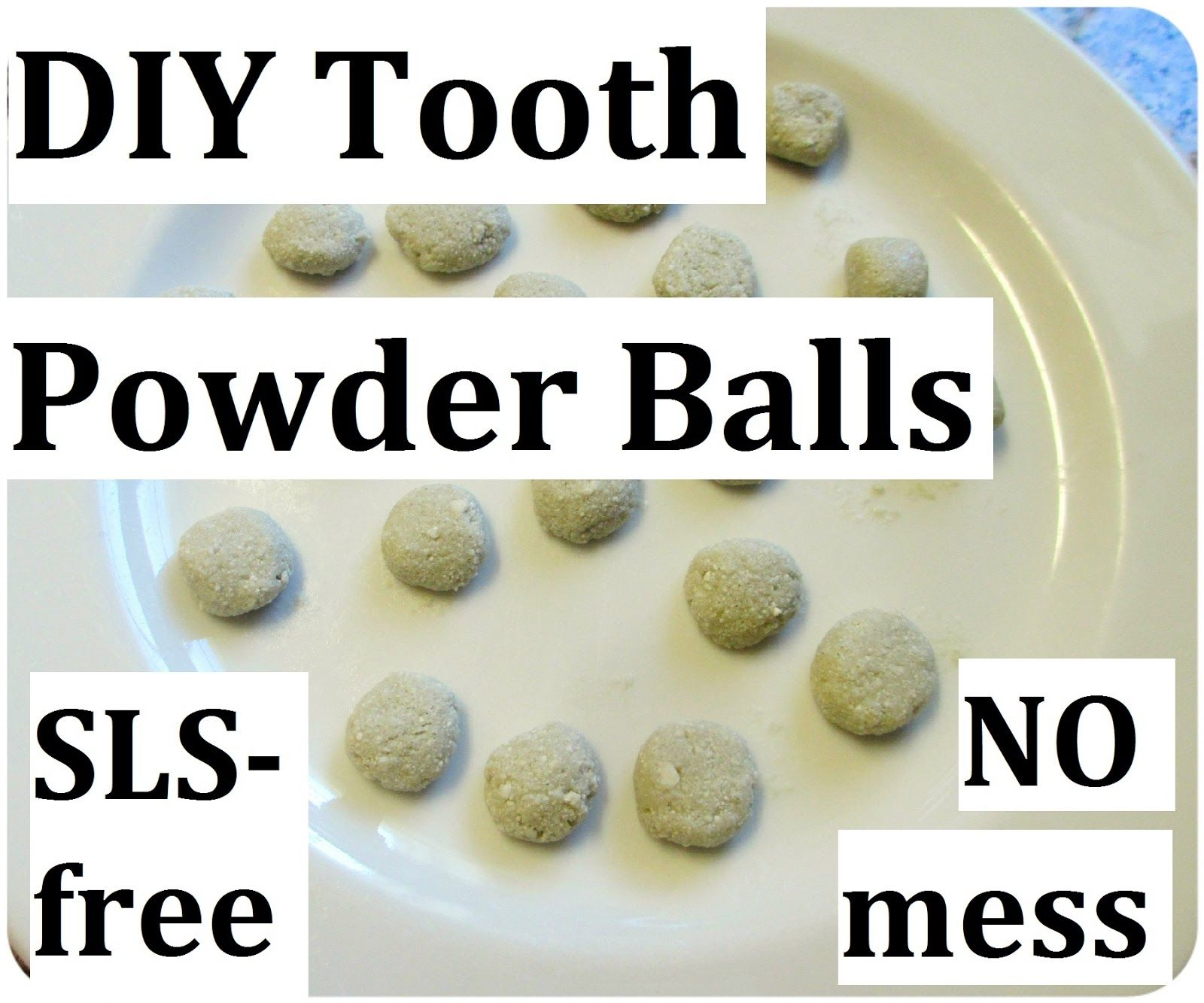 diy mineralizing tooth powder balls homemade toothpaste recipe