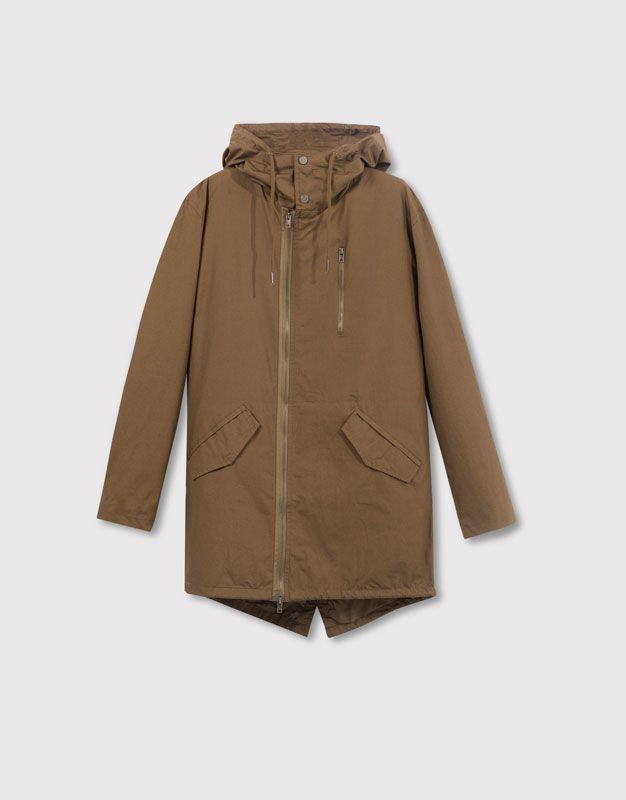 Pull And Bear Homme : homme, Men's, Coats, Parkas, PULL&BEAR, United, Kingdom, Parka,, Coats,